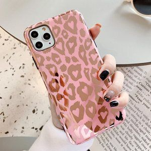 NEW iPhone 11/Pro/Max/XR/7/8/Plus Leopard case
